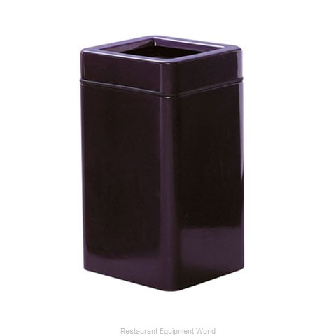 Rubbermaid FGFG1630SQTPLBK Waste Receptacle Outdoor