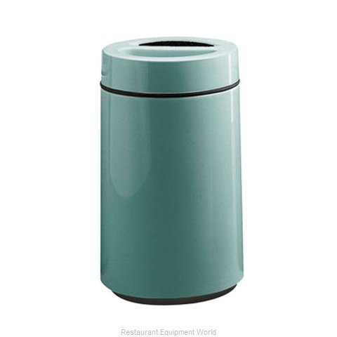 Rubbermaid FGFG1630SUTPLBYW Ash Tray Top Sand Urn Trash Can Base (Magnified)