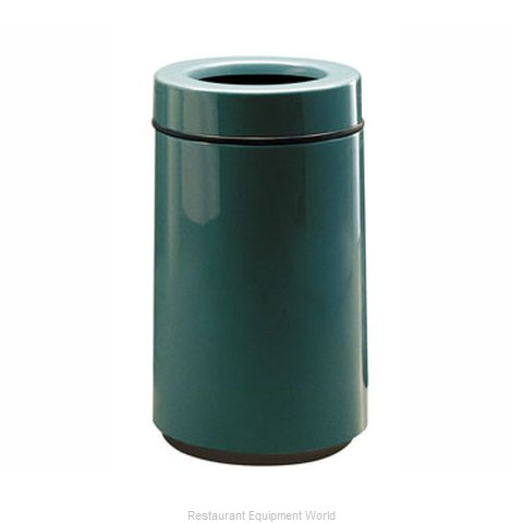 Rubbermaid FGFG1630TPLBK Waste Receptacle Outdoor