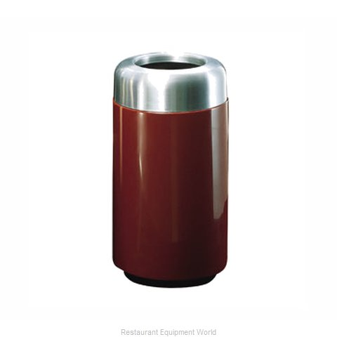 Rubbermaid FGFG1630TSAPLBB Waste Receptacle Outdoor (Magnified)