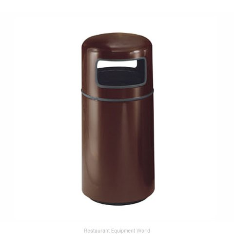 Rubbermaid FGFG1639PLEGP Waste Receptacle Outdoor (Magnified)