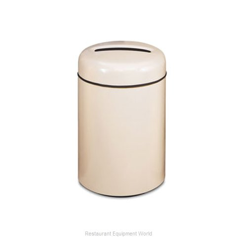 Rubbermaid FGFG1829PPLDBN Waste Receptacle Recycle