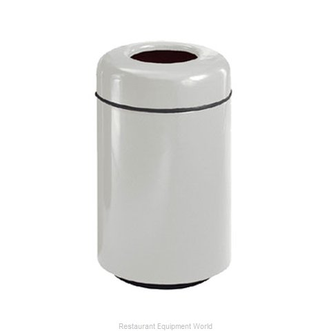 Rubbermaid FGFG1829TSAPLBK Waste Receptacle Outdoor (Magnified)