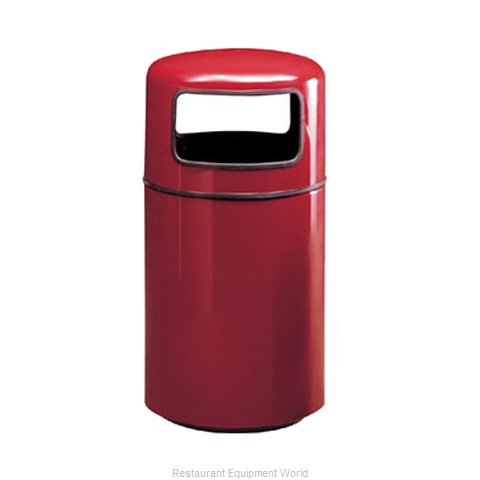 Rubbermaid FGFG1837PLBK Waste Receptacle Outdoor