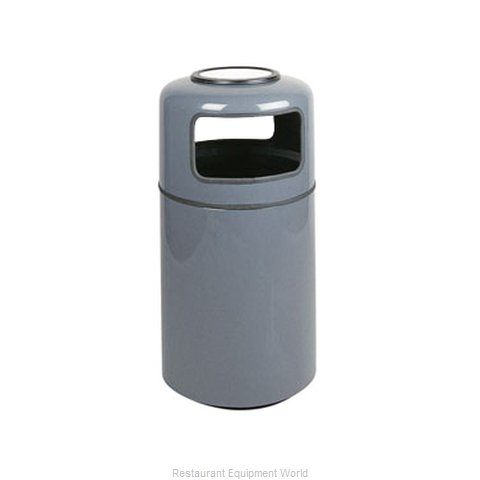 Rubbermaid FGFG1837SUPLMN Ash Tray Top Sand Urn Trash Can Base (Magnified)