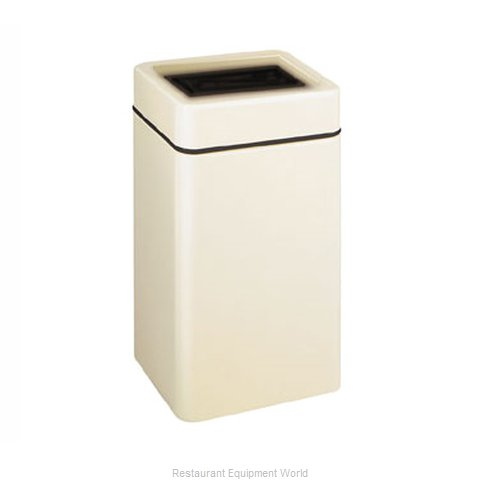 Rubbermaid FGFG2030SQTPLWH Waste Receptacle Outdoor