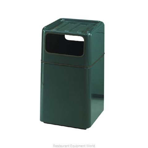 Rubbermaid FGFG2037SQTRPLMV Waste Receptacle Outdoor (Magnified)