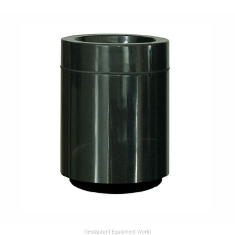 Rubbermaid FGFG2432PLBK Waste Receptacle Outdoor