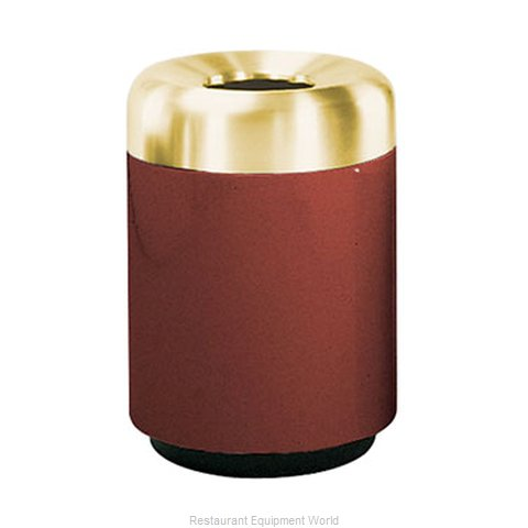 Rubbermaid FGFG2432TSBPLMV Waste Receptacle Outdoor (Magnified)