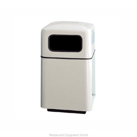 Rubbermaid FGFG2438SQPLSBG Waste Receptacle Outdoor (Magnified)