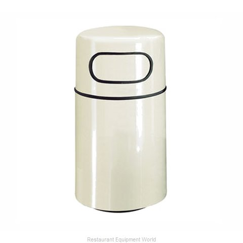 Rubbermaid FGFG2439DRGLNBL Trash Garbage Waste Container Stationary