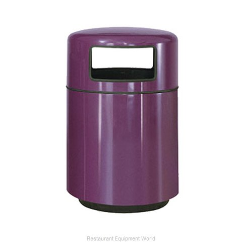 Rubbermaid FGFG2439PLBK Waste Receptacle Outdoor