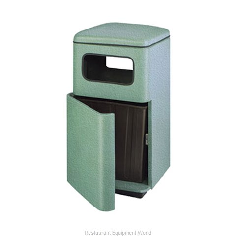 Rubbermaid FGFG2449SQPLSAGE Waste Receptacle Outdoor