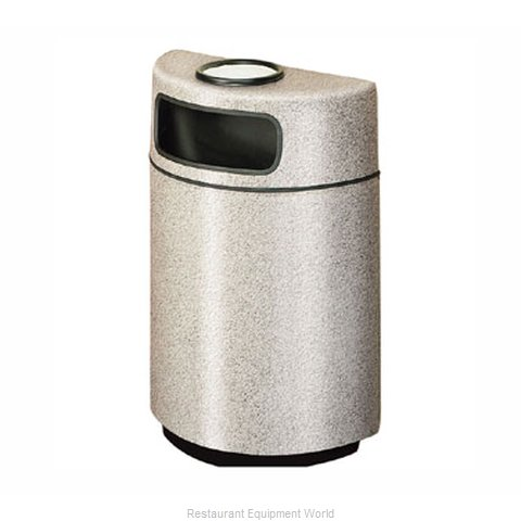 Rubbermaid FGFGH2436SUPLBK Ash Tray Top Sand Urn Trash Can Base (Magnified)