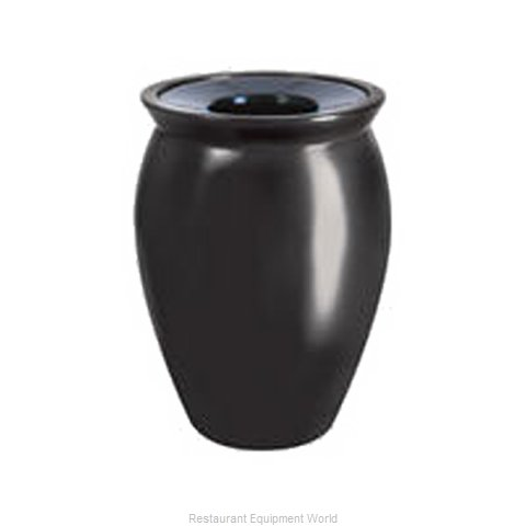 Rubbermaid FGFGK1824PLSAH Waste Receptacle Outdoor (Magnified)