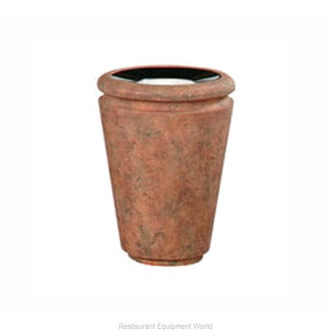 Rubbermaid FGFGK1824SUBISQ Ash Tray Top Sand Urn Trash Can Base (Magnified)