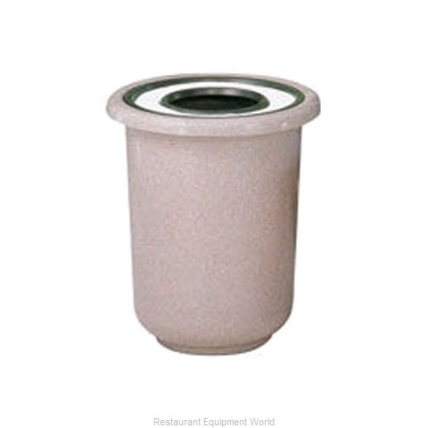 Rubbermaid FGFGL2730GTPLBZ Ash Tray Top Sand Urn Trash Can Base