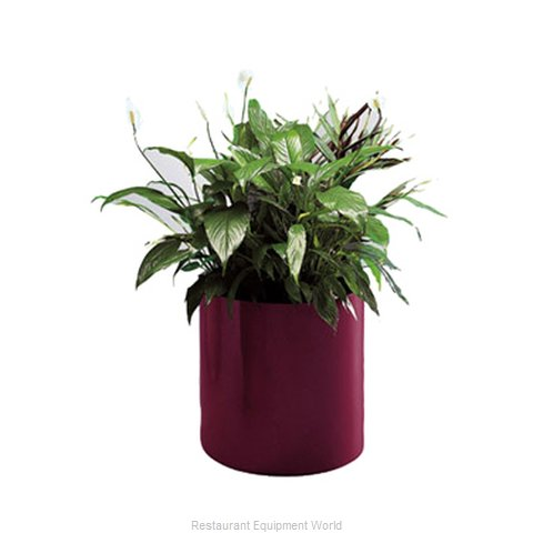 Rubbermaid FGFGPM1818BK Planter (Magnified)