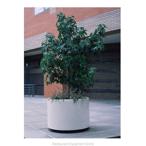 Rubbermaid FGFGPP7224BK Planter