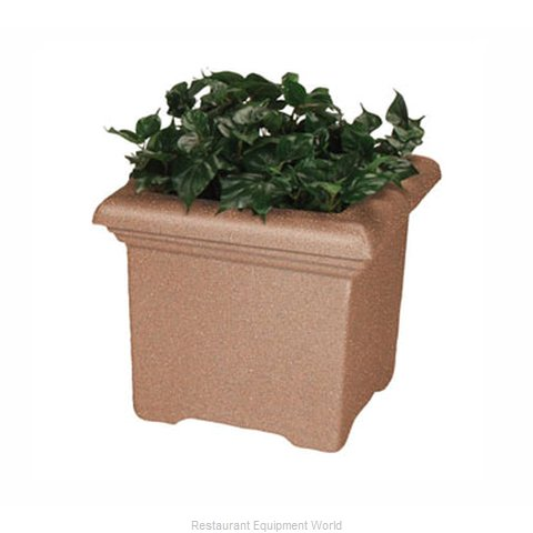 Rubbermaid FGFGPT2424BKDH Planter