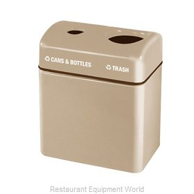 Rubbermaid FGFGR2416TPPLDBN Waste Receptacle Recycle