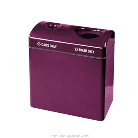 Rubbermaid FGFGR3418TCPLNBL Waste Receptacle Recycle