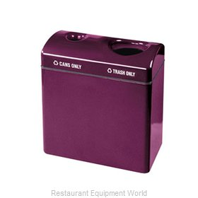Rubbermaid FGFGR3418TCPLRD Waste Receptacle Recycle