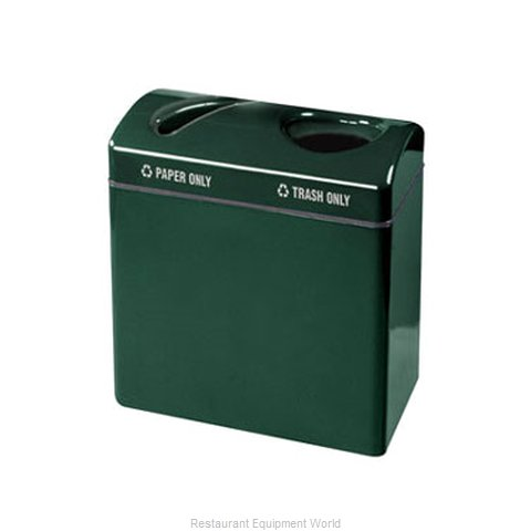 Rubbermaid FGFGR3418TPPLEGN Waste Receptacle Recycle