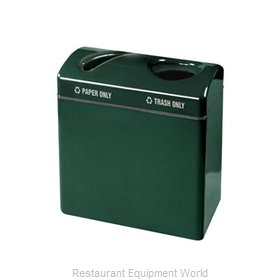 Rubbermaid FGFGR3418TPPLWMG Waste Receptacle Recycle