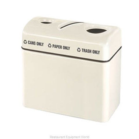 Rubbermaid FGFGR3616TPCPLTN Waste Receptacle Recycle