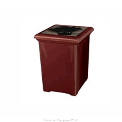Rubbermaid FGFGT2433SQPLBK Waste Receptacle Outdoor