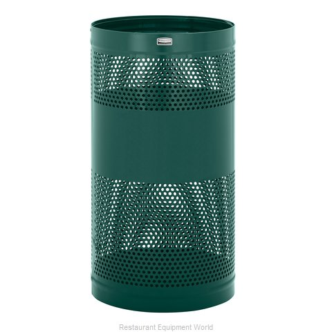 Rubbermaid FGH3EGN Waste Receptacle Outdoor