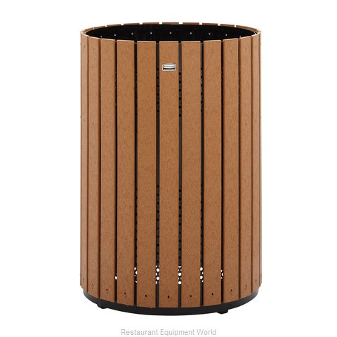 Rubbermaid FGH55C Trash Receptacle, Outdoor/Indoor (Magnified)