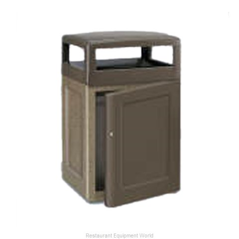 Rubbermaid FGKSR48SD8000PL Waste Receptacle Outdoor