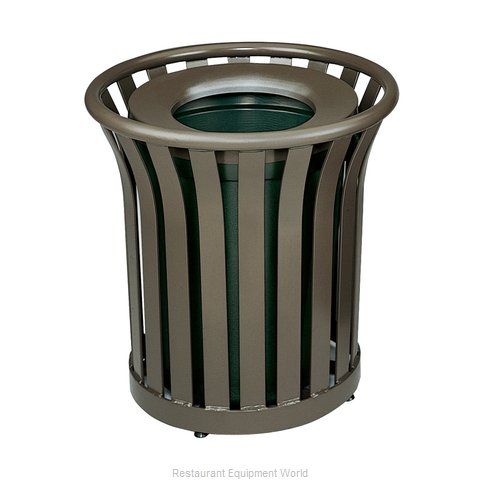 Rubbermaid FGMT22PLABZ Waste Receptacle Outdoor