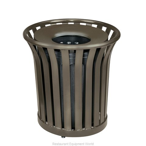 Rubbermaid FGMT32PLABZ Waste Receptacle Outdoor