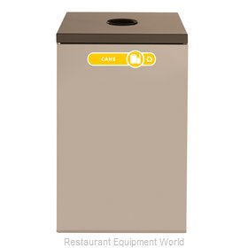 Rubbermaid FGNC24C2 Recycling Receptacle / Container