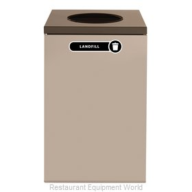 Rubbermaid FGNC24W4 Recycling Receptacle / Container
