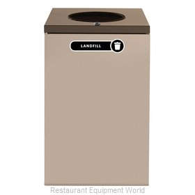 Rubbermaid FGNC24W4L Recycling Receptacle / Container