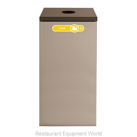 Rubbermaid FGNC30C2 Waste Receptacle Recycle