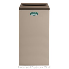 Rubbermaid FGNC30P10 Recycling Receptacle / Container