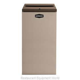 Rubbermaid FGNC30P11L Waste Receptacle Recycle