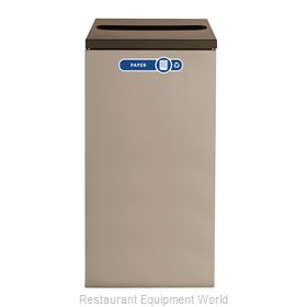 Rubbermaid FGNC30P5 Waste Receptacle Recycle