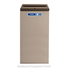 Rubbermaid FGNC30P5L Waste Receptacle Recycle