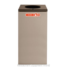 Rubbermaid FGNC30W1L Recycling Receptacle / Container