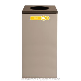 Rubbermaid FGNC30W2 Recycling Receptacle / Container