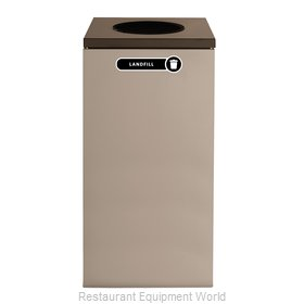 Rubbermaid FGNC30W4 Recycling Receptacle / Container