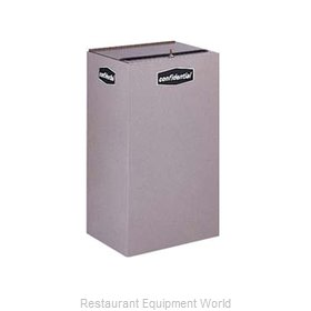 Rubbermaid FGNC30W6 Waste Receptacle Recycle