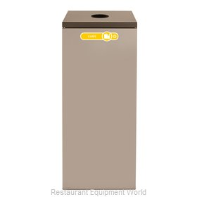 Rubbermaid FGNC36C2 Waste Receptacle Recycle
