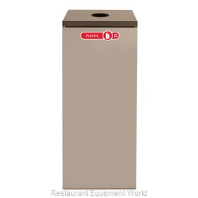 Rubbermaid FGNC36C3 Waste Receptacle Recycle